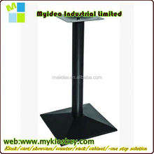 HS-A112 antique cast iron furniture black powder coated table feet metal leg for table adjustable table leg screw