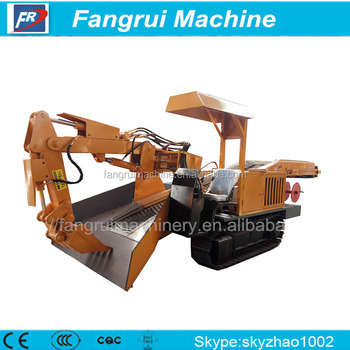 Superior Stable crawler-type grilled slag machine for underground mine for export