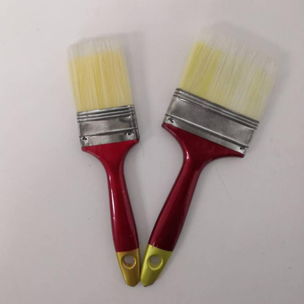 Export High-Density Red Handle Flat Paint Brush Easy To Use SQ-03