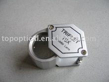 metal power magnification Jewelry loupe