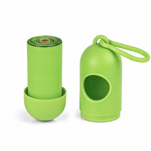 300 Counts Biodegradable Pet Poop Waste Bags with pill shape dispenser for dogs