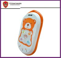 UVI GPS tracker PT301 baby bear cell phone gps tracker same cute with hello kitty cell phone