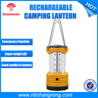 Portable Waterproof Outdoor Camping Lantern Rechargeable Fluorescent Camping Lantern