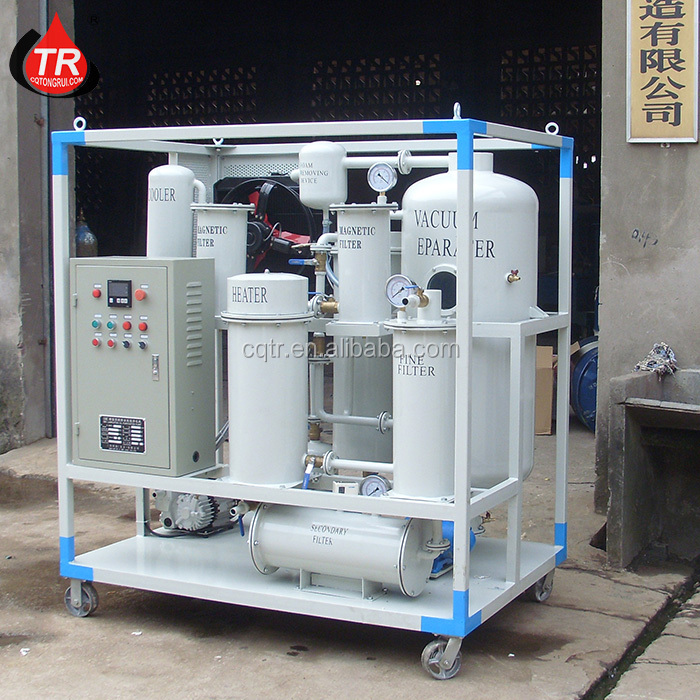 High efficient Used mobile gear oil purifier for hydraulic recycling machine