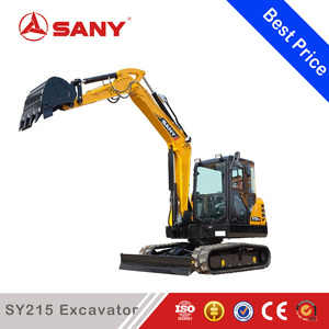 SANY SY215 21ton Long Reach Boom and Arm China Excavator Long Boom