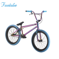 "Jet Purple 20"" Hi-ten Steel Chromoly Dirt Jump Bikes Bisiklet BMX Freestyle Bicycle BMX Mini"