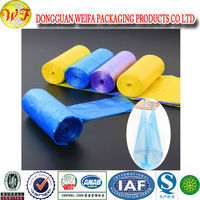 several Years Experience And Perfect Printing Custom Printed Plastic Garbage Bags In Roll Red