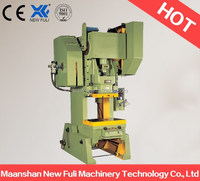 J23 Series 60T steel plate stamping machine With CE,electrical punch press