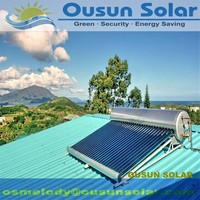 Hot sell stainless steel non pressure heater solar water