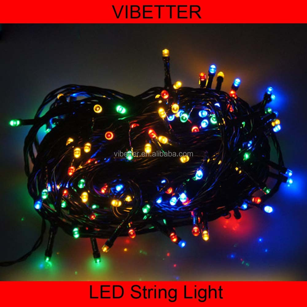 10M 100 LED Bulbs String Outdoor Decoration Holiday Tree LED String Light