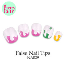 factory wholesale lovely artificial fingernails nail tips wholesale NA029