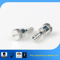 slotted panel head carbon steel captive thumb screw