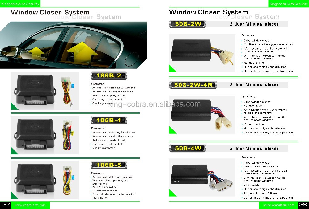 2 Door Automatic Electronic Window Closer
