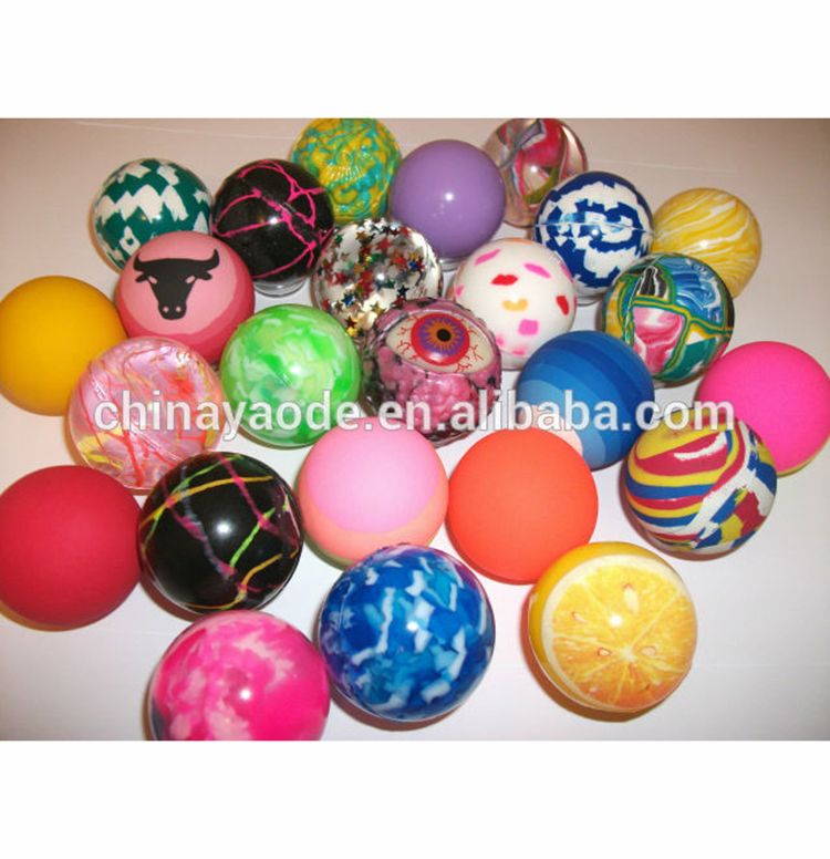 High quality attractive style popular rubber bouncing balls