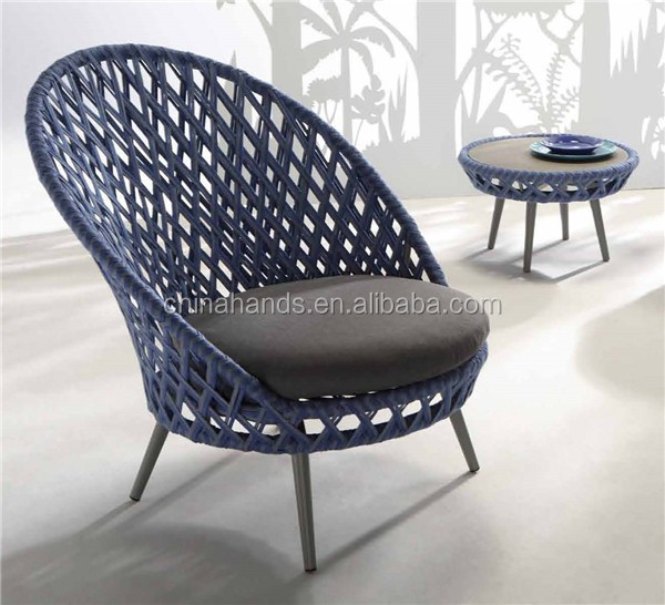 2015 Latest Design Elegant Outdoor Rattan Lounge Chair