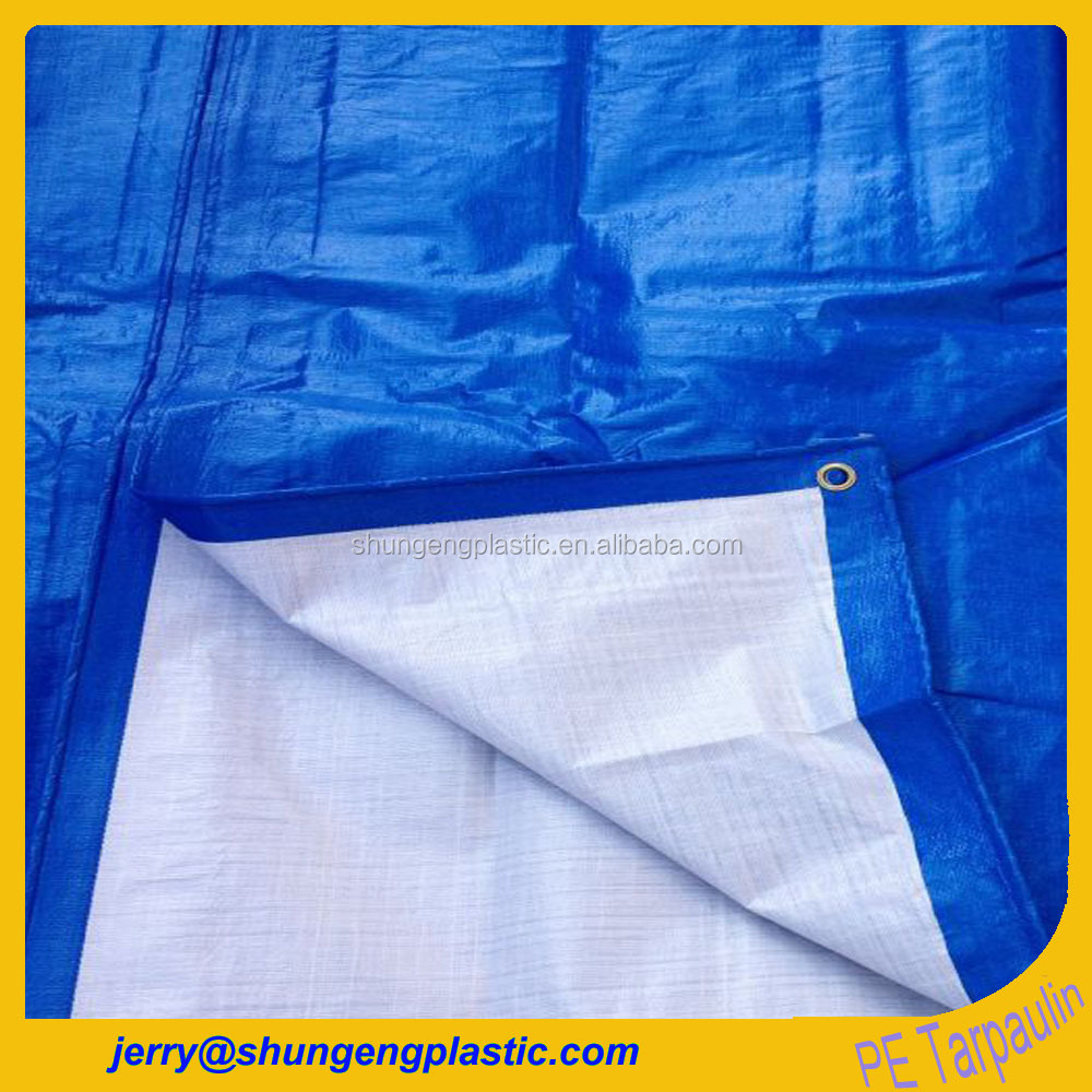 pure hdpe raw material made waterproof plastic tarps cover for beach tent chair and canopy fabric