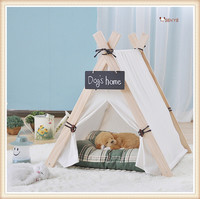 Small And Medium Size Dog Tent Wooden Dog House