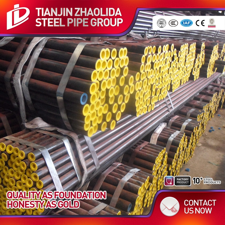 schedule 40 and 80 black steel seamless pipes sch40 astm a53 price list