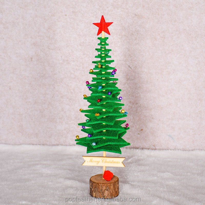 PM-1273 DIY Cloth Christmas tree decoration Children handmade toys