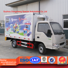 JAC Cooling van truck with thermo king refrigeration units, Eutectic van truck