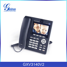 Grandstream 3g desktop phone GXV3140 cheap tablet pc skype video phone