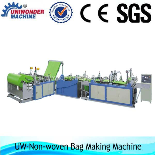 2014 Best price non woven pp bag manufacturing machine in india/Non woven bag making machine