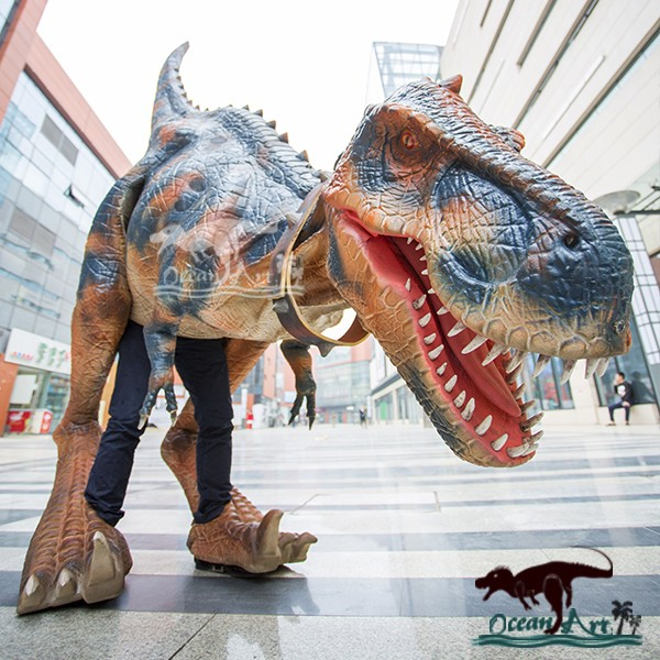 OA-DC-L33 High Technology Animatronics Dinosaur Puppet