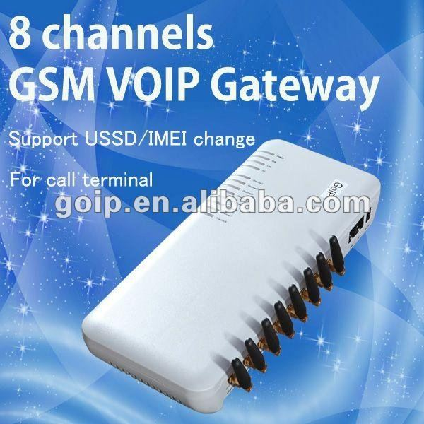 For call terminal,8 ports gateway voip 8fxs 8fxo best seller worldwide