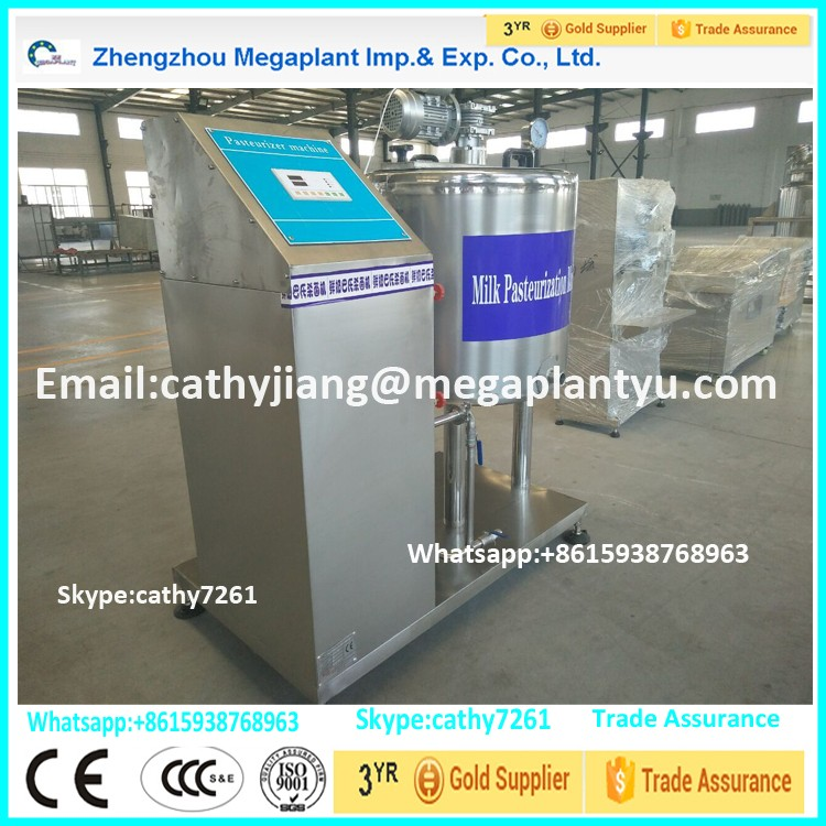 Cold Cooling Commercial Milk Sterilizer Pasteurization for Sale Price
