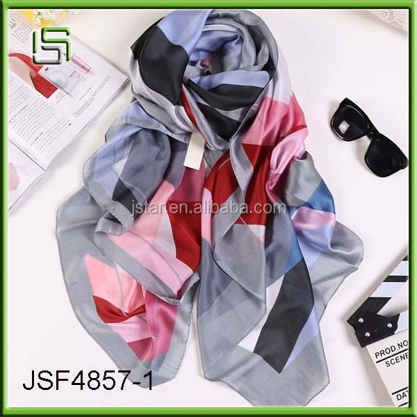2017 scarves long fashion women's high quality silk scarves