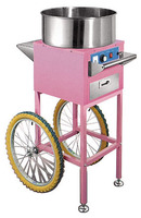 COTTON CANDY FLOSS MACHINE WITH CART