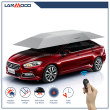 Lanmodo outdoor car canopy tents automatic folding car parking shade canopy