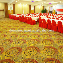 High-end Nylon/Wool material blended carpet for banquet conference room