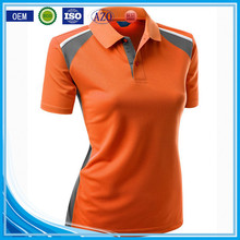 OEM promotional regular fit best sale women wholesale cotton summer family polo t-shirt