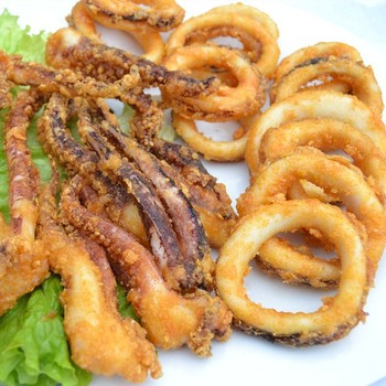 hot sale frozen seafood(breaded squid)