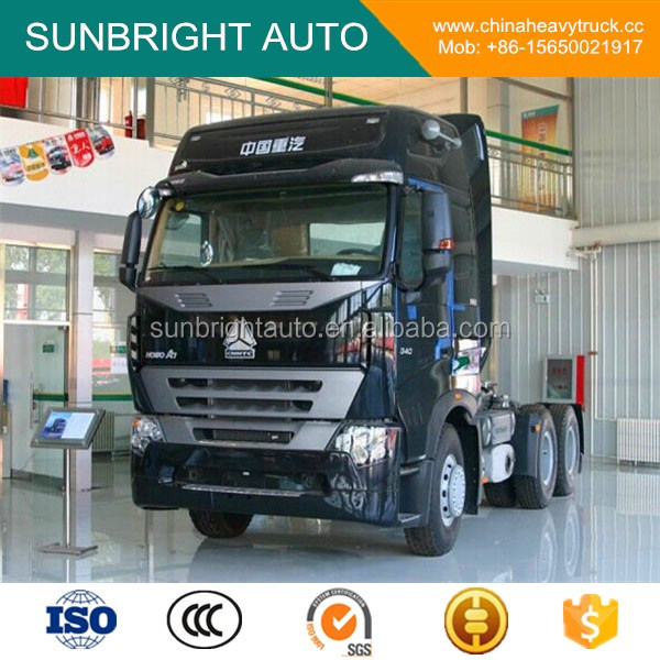 SINOTRUK HOWO A7 420HP 10 Wheeler Tractor Truck for Sale