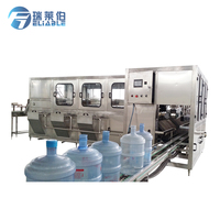 Automatic 5 Gallon Barreled Bottle Pure/Mineral Water Filling Machine/Plant Price