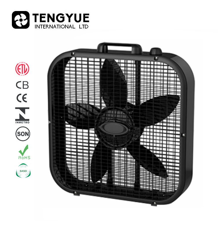 ETL Metal Frame box fan wholesale & door to door America shipment wholesale Box Fan &Ventilador tipo caja