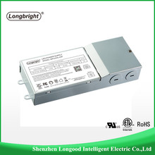 UL listed 120V 220V 277V Constant current 44W 63W 0-10V dimmable LED power supply driver for panel fixture 1100MA 1500MA driver