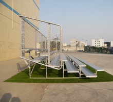 best seller bleacher with guard rail