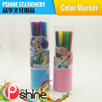 Kids Gift Custom Color felt tip pen for kids painting