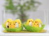 new year gift soft fabric handcraft cute chicken toys gift