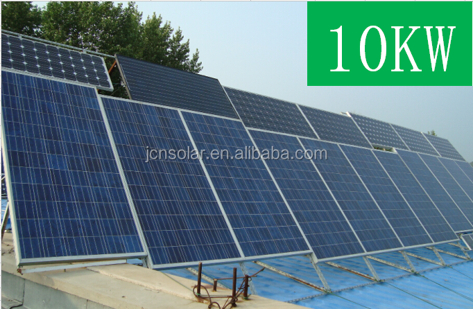Best price & high efficiency 10kw off grid solar panel pakistan lahor for home system from china manufacturer