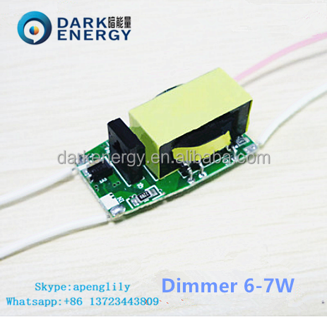 El conductor del LED 180-240v 6w 400ma dimmable driver for led