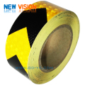 PVC double colors square checkered reflective tape for vehicles