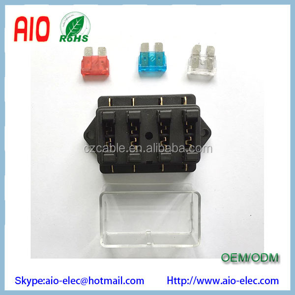 12V 4 Way ATO ATC medium Blade MAXI Fuse Holder
