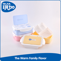Hot selling pp non-toxic plastic food container with lock
