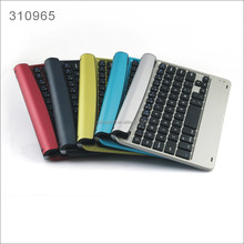 Colorful Aluminum Bluetooth Keyboard for Ipad Mini New Design Wireless Bluetooth Keyboard for iPad mini 1 2 3
