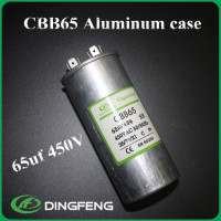 air conditioning 25 mfd 370v capacitor film cbb65 capacitor