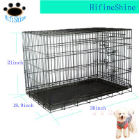 Large Pet Crate Folding Big Dog Cage Metal Training Kennel Wire metal dog cage